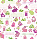 Seamless pattern for Easters design. Royalty Free Stock Photography