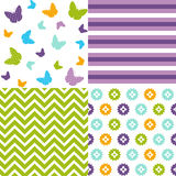 Seamless pattern easter set Stock Photography