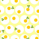 Seamless pattern with eggs Royalty Free Stock Photo