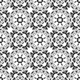 Seamless pattern of the elements of Art Nouveau. Royalty Free Stock Photos