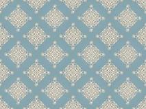 Seamless pattern with ellegant golden knot sign. Raster illustration. Royalty Free Stock Images
