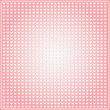 Seamless pattern in the embossed heart Stock Images