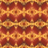 Seamless pattern with embroidery. Ikat Ethnic folklore ornament royalty free illustration