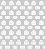 Seamless pattern with envelopes. Postal delivery Royalty Free Stock Images
