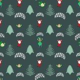 Seamless pattern. EPS 10  illustration. used for printing, websites, design, ukrasheniayya, interior, fabrics, etc. Christma Royalty Free Stock Photos