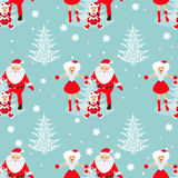 Seamless pattern. EPS 10  illustration. used for printing, websites, design, ukrasheniayya, interior, fabrics, etc. Christma Stock Image