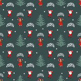 Seamless pattern. EPS 10  illustration. used for printing, websites, design, ukrasheniayya, interior, fabrics, etc. Christma Stock Photos
