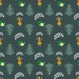 Seamless pattern. EPS 10 illustration. used for printing, websites, design, ukrasheniayya, interior, fabrics, etc. Christma stock illustration