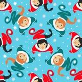 Seamless pattern. EPS 10  illustration. used for printing, websites, design, ukrasheniayya, interior, fabrics, etc. Christma Stock Photo