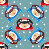 Seamless pattern. EPS 10  illustration. used for printing, websites, design, ukrasheniayya, interior, fabrics, etc. Christma Royalty Free Stock Image