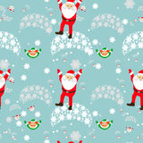 Seamless pattern. EPS 10  illustration. used for printing, websites, design, ukrasheniayya, interior, fabrics, etc. Christma Royalty Free Stock Photo