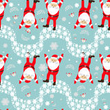 Seamless pattern. EPS 10  illustration. used for printing, websites, design, ukrasheniayya, interior, fabrics, etc. Christma Stock Photography