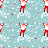 Seamless pattern. EPS 10  illustration. used for printing, websites, design, ukrasheniayya, interior, fabrics, etc. Christma Royalty Free Stock Photography