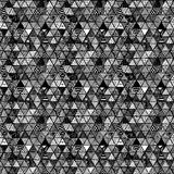 Seamless pattern of equilateral triangles Stock Images