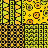 Seamless pattern of ethnic Stock Image