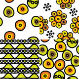 Seamless pattern of ethnic Royalty Free Stock Photo