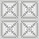 Seamless pattern with ethnic elements. Geometrical Stock Images