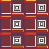 Seamless pattern with ethnic elements. Geometrical stock illustration