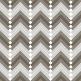Seamless pattern with ethnic elements. Geometrical Stock Image