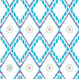 Seamless pattern with ethnic elements. Geometrical vector illustration