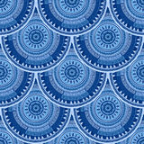 Seamless pattern with ethnic motif Stock Photography