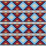 Seamless pattern in ethnic style Stock Image