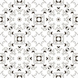 Seamless pattern in ethnic style Stock Photo