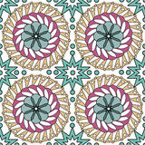 Seamless pattern ethnic style background.  Royalty Free Stock Photos