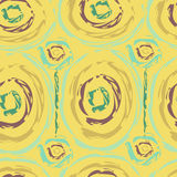 Seamless pattern in ethnic style batik. Smears of paint cloth Stock Photography
