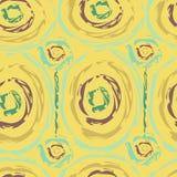Seamless pattern in ethnic style batik Stock Photography