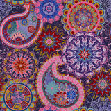 Seamless pattern in ethnic traditional style. Royalty Free Stock Photos