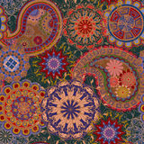 Seamless pattern in ethnic traditional style. Stock Image