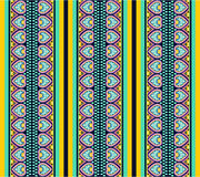 Seamless pattern with ethno motives royalty free stock photo