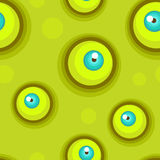 Seamless pattern with eyes. Stock Images