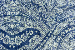 Seamless pattern from fabric Stock Photography