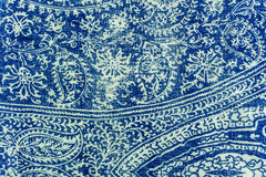 Seamless pattern from fabric Stock Photo