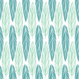Seamless pattern with feather Stock Photo