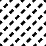 Seamless pattern of film strip. Vector background Stock Image