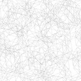 Seamless pattern from fine lines decagon. Vector illustration. Seamless pattern from grey fine lines decagon Stock Photography