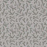 Seamless pattern fir brunch winter snowflake. Gray backdrop. Royalty Free Stock Photography