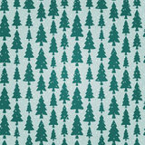 Seamless pattern with fir trees and snowflakes. Christmas seamless pattern with fir trees and snowflakes Stock Photos