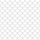 Seamless pattern with fish scales. Stock Photo