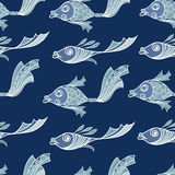 Stylised Fish Illustration Stock Vector Illustration Of
