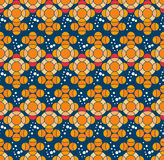 Seamless pattern with fish, web page background. Surface textures, textile Stock Illustration