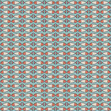 Seamless pattern with fishes. Seamless pattern on underwater life theme Stock Images