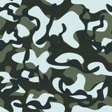 Vector illustration of a camouflage background in dark light tones vector illustration