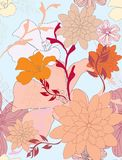 Seamless pattern floral Royalty Free Stock Images