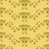 Seamless pattern floral 2b Stock Image