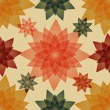 Seamless pattern with floral abstraction. Royalty Free Stock Photos