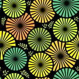 Seamless pattern / Floral background Stock Photos